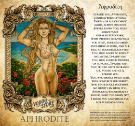 7-Day Candle Label - Aphrodite