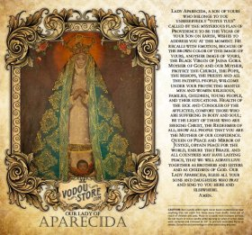 7-Day Candle Label - O.L. of Aparecida