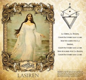 7-Day Candle Label - Lasiren