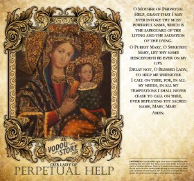 7-Day Candle Label - O.L. of Perpetual Help