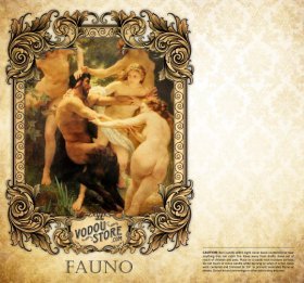 7-Day Candle Label - Fauno
