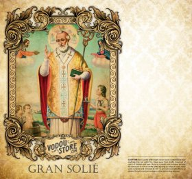 7-Day Candle Label - Gran Solie