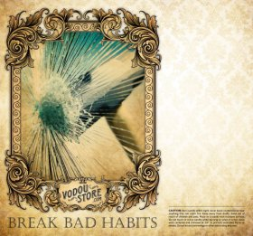7-Day Candle Label - Break Bad Habits