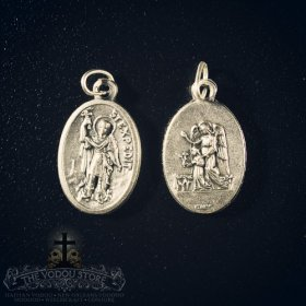 St. Expedite / Guardian Angel Medal