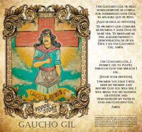 7-Day Candle Label - Gaucho Gil