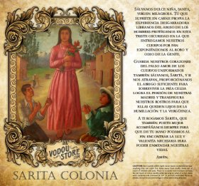 7-Day Candle Label - Sarita Colonia