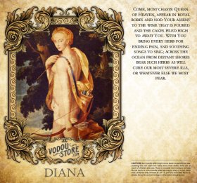 7-Day Candle Label - Diana