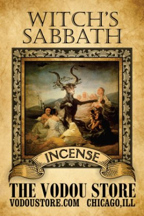 Witch's Sabbath Incense