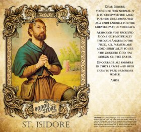 7-Day Candle Label - St. Isidore of Seville