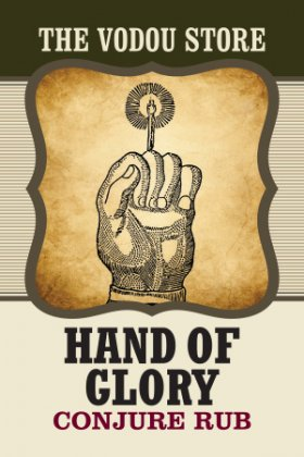 Hand of Glory Conjure Hand Rub