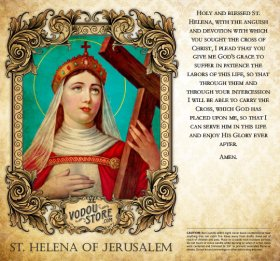 7-Day Candle Label - St. Helena of Jerusalem