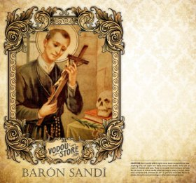 7-Day Candle Label - Baron Sandi