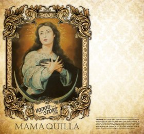 7-Day Candle Label - Mama Quilla