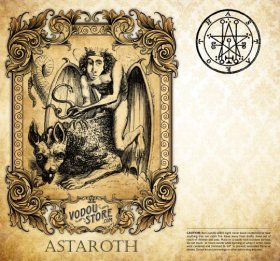 7-Day Candle Label - Astaroth