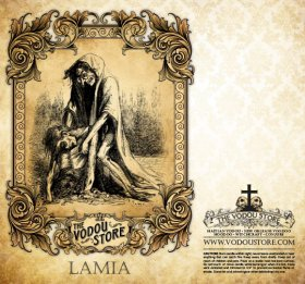 7-Day Candle Label - Lamia