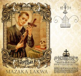 7-Day Candle Label - Mazaka Lakwa