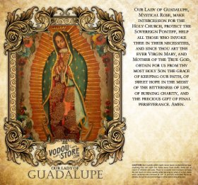 7-Day Candle Label - O.L. of Guadalupe