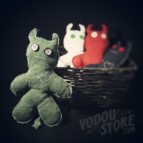 Devil Poppet/Voodoo Doll - Green