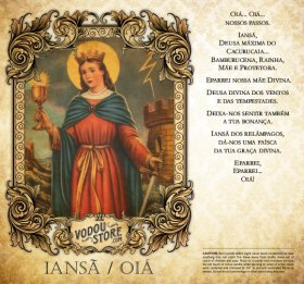 7-Day Candle Label - Ians&atilde / Oiá