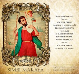 7-Day Candle Label - Simbi Makaya