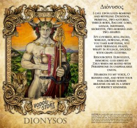 7-Day Candle Label - Dionysos