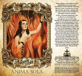 7-Day Candle Label - Anima Sola