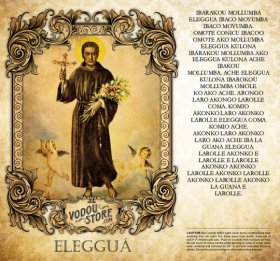 7-Day Candle Label - Eleggua