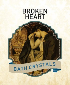 Broken Heart Bath Crystals