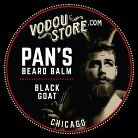 Pan's Beard Balm - Black Goat