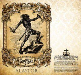 7-Day Candle Label - Alastor