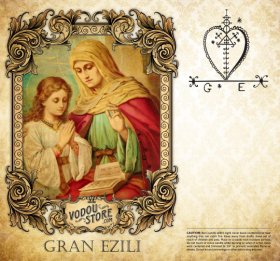 7-Day Candle Label - Gran Ezili