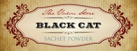 Black Cat Sachet Powder