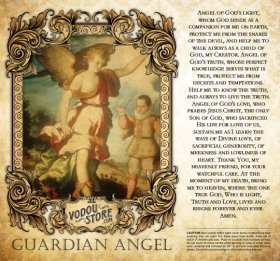 7-Day Candle Label - Guardian Angel