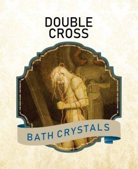 Double Cross Bath Crystals