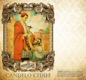 7-Day Candle Label - Candelo Cedife