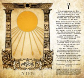 7-Day Candle Label - Aten