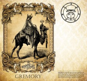 7-Day Candle Label - Gremory (Gomory)