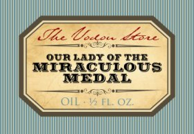 O.L. of the Miraculous Medal Oil