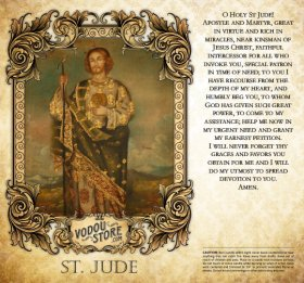 7-Day Candle Label - St. Jude