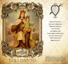 7-Day Candle Label - Ezili Danto
