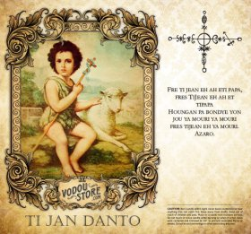 7-Day Candle Label - Ti Jan Danto