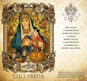 7-Day Candle Label - Ezili Freda