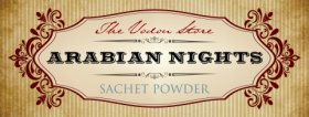 Arabian Nights Sachet Powder