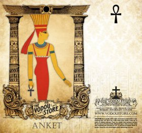 7-Day Candle Label - Anket (Anukis)