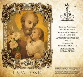 7-Day Candle Label - Papa Loko
