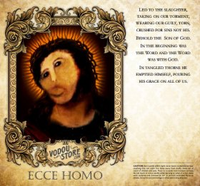 7-Day Candle Label - Ecce Homo