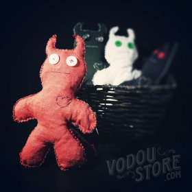 Devil Poppet/Voodoo Doll - Red