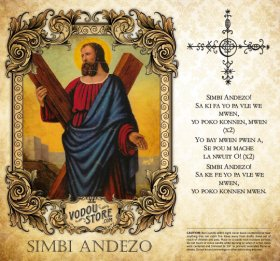 7-Day Candle Label - Simbi Andezo