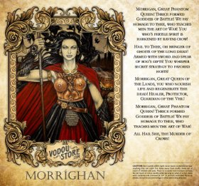 7-Day Candle Label - Morrigan