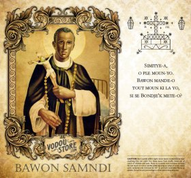 7-Day Candle Label - Bawon Samndi